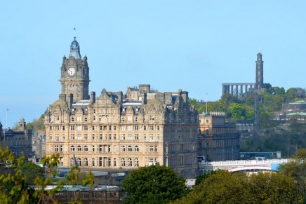 The Balmoral has revealed a new look for its finest suite, one of the largest in Scotland