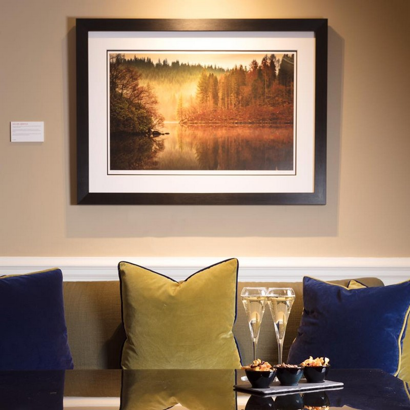 The Balmoral Hotel walls are adorned with photography by Shahbaz Majeed-