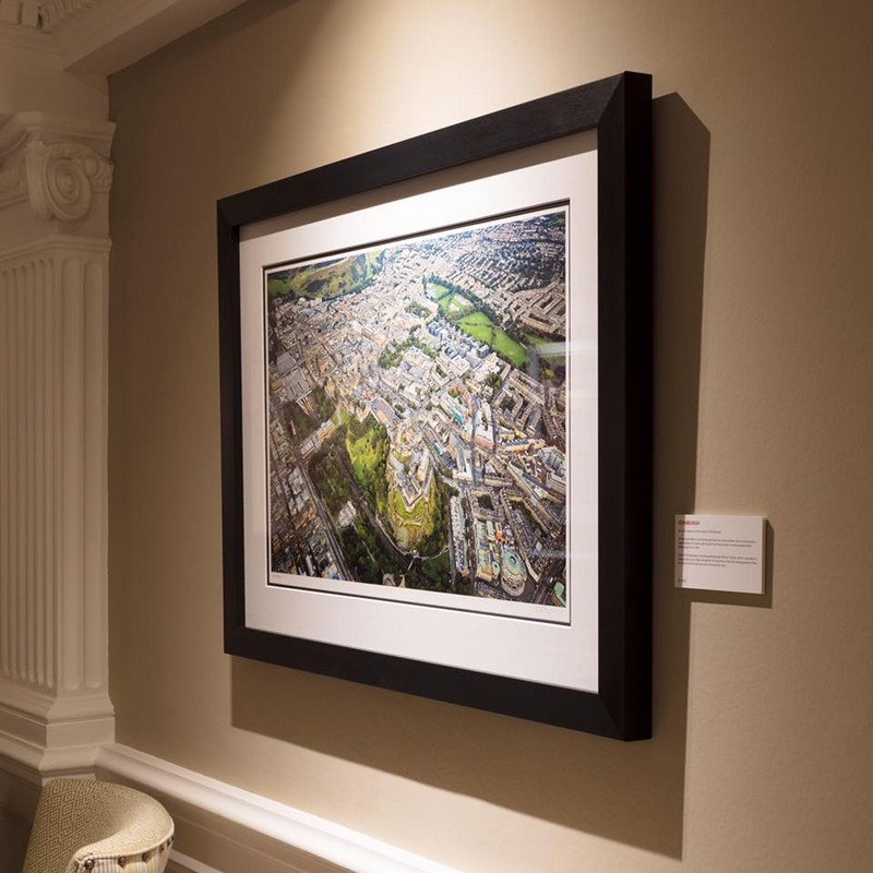 The Balmoral Hotel walls are adorned with photography by Shahbaz Majeed