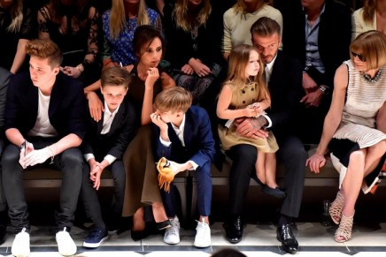 The Beckhams: It's a family affair as the next generation joins the limelight