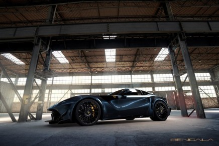 F12 Caballería or the tricky project of customizing a Ferrari