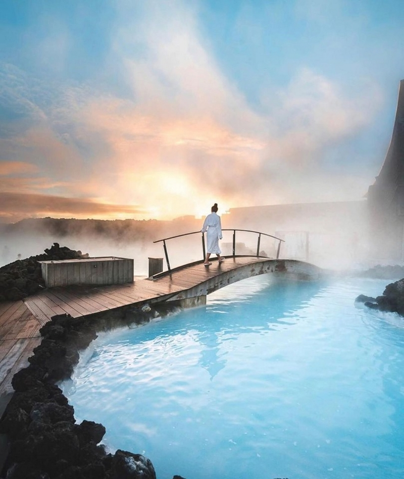 The Best Places to Visit in Iceland For a Long Weekend - natural hot springs