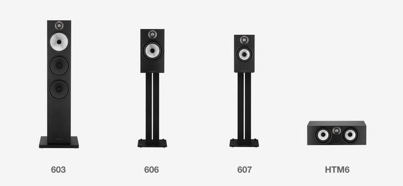 The Bowers & Wilkins 600 Series -