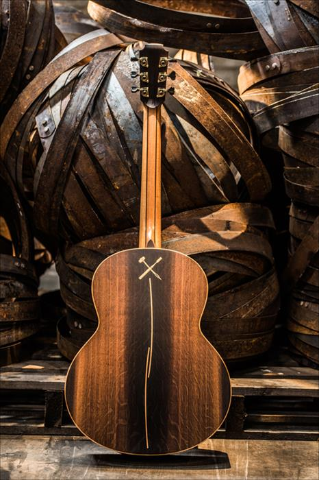 The Bushmills x Lowden Limited Edition Guitar 2017-