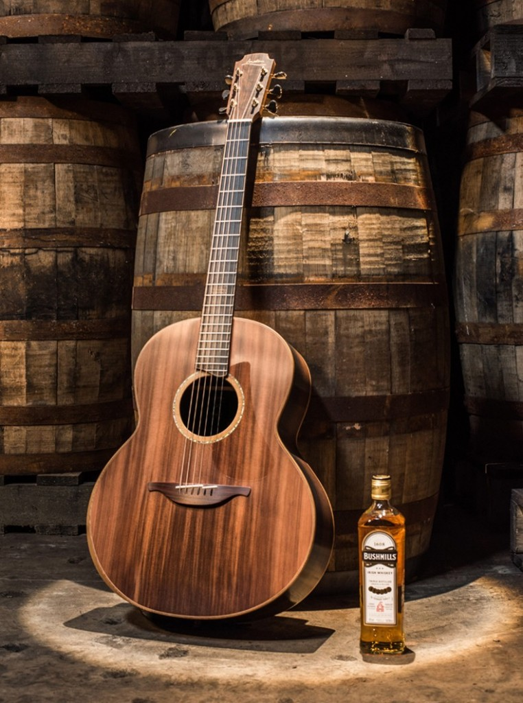 The Bushmills x Lowden Limited Edition Guitar 2017 project