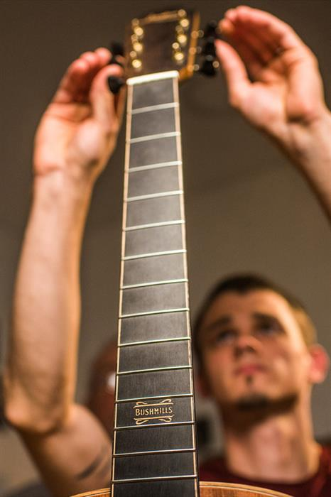 The Bushmills x Lowden Limited Edition Guitar in the making-