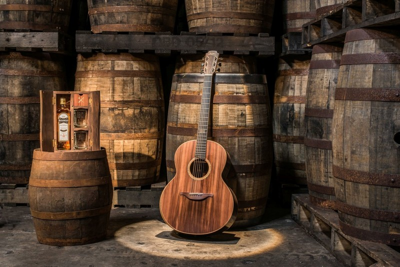 The Bushmills x Lowden Limited Edition Guitar
