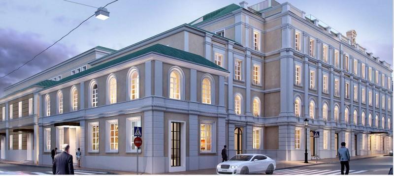 The Bvlgari Hotel Moscow facade