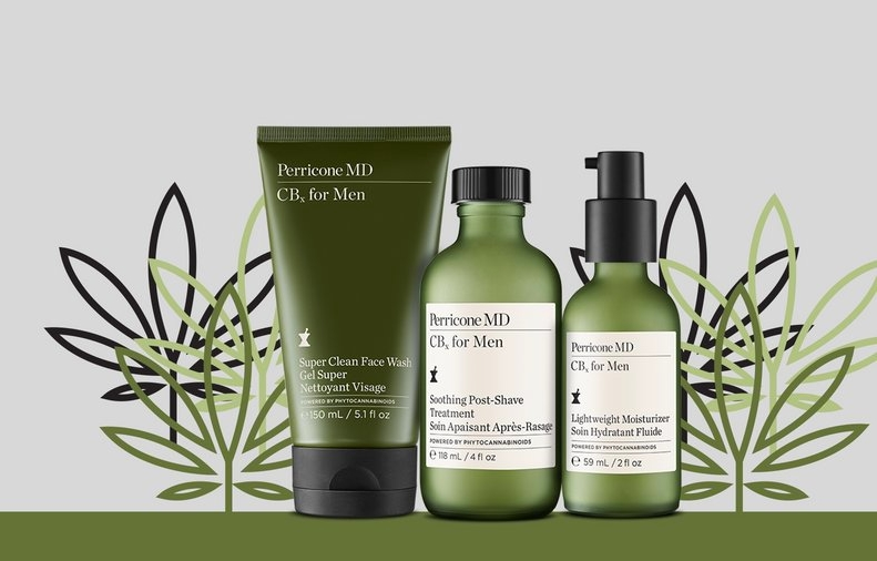 The CBx for Men product trio retails for $35-$55 each