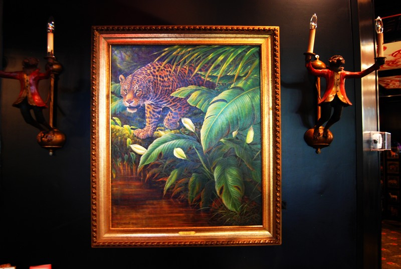 The Chesterfield Palm Beach - Out of the Shadows, by Kim Brooks in the Leopard Lounge