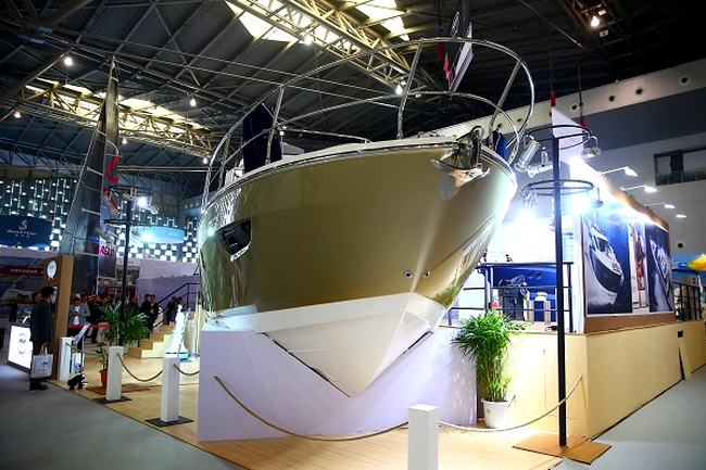 The China Shanghai International Boat Show CIBS photo gallery