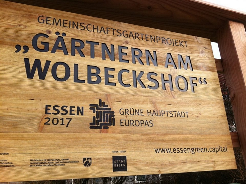 The City of Essen is officially the European Green Capital-
