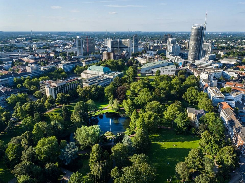 The City of Essen is officially the European Green Capital-2017