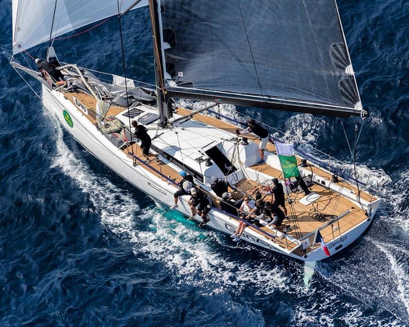 The ClubSwan 50-001 will be on display at the Düsseldorf Boat Show