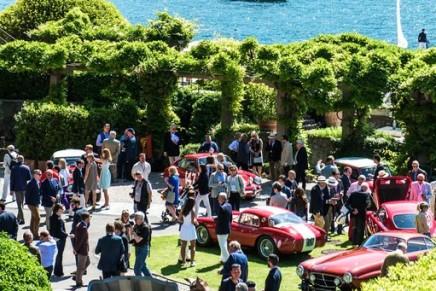 51 rare automobiles and 40 historic motorcycles at the start of The Concorso d'Eleganza Villa d'Este 2017