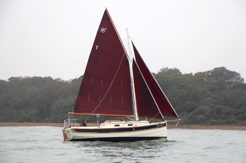 The Cornish Crabber 24 MkV is making its London Boat Show debut in 2018'