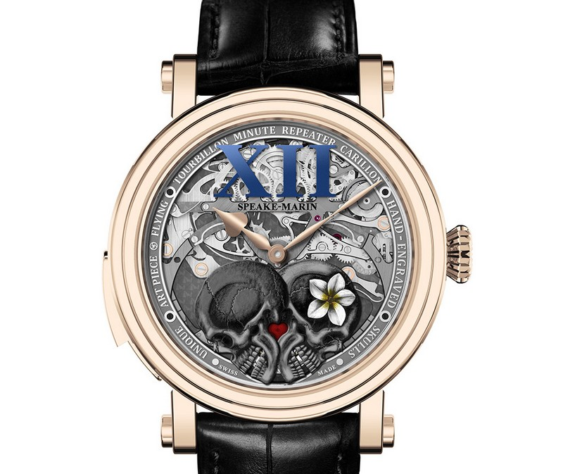 The Crazy Skulls by Speake-Marin with Flying Tourbillon, Minute Repeater Carillon and a
