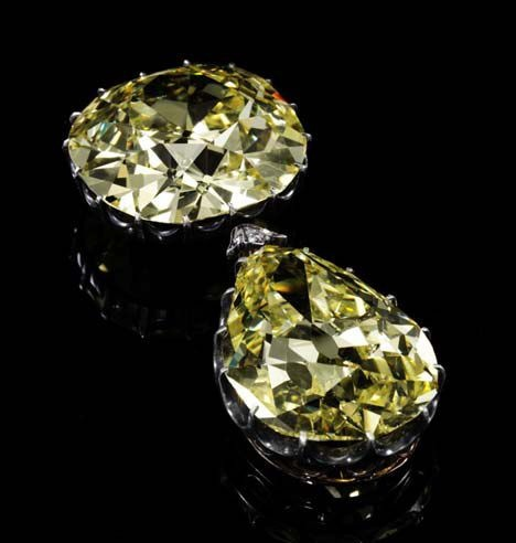 The Donnersmarck Diamonds - Fancy Intense Yellow diamonds
