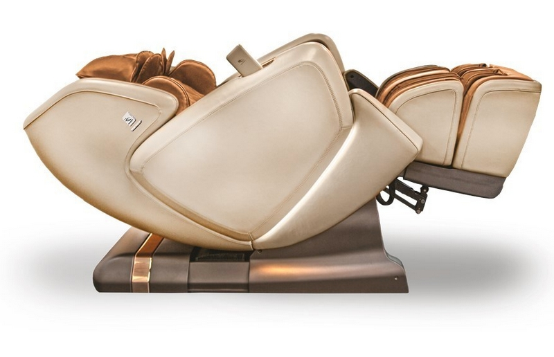 The DreamWave M.8 is the world's most luxurious full-body shiatsu massage chair