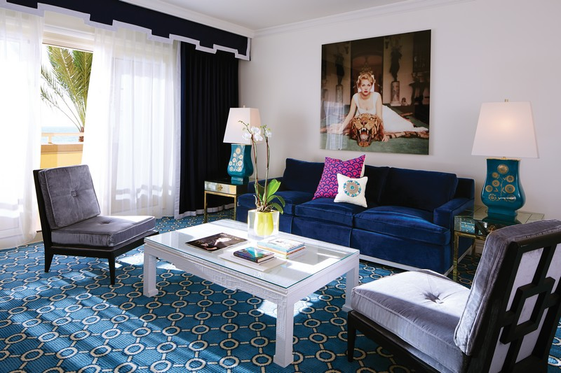 The Eau Palm Beach Resort & Spa in Manalapan -Suite Living Room_2