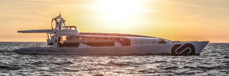The Energy Observer boat-
