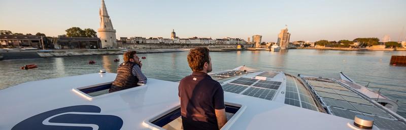 The Energy Observer boat--