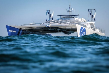 Hydrogen-powered Energy Observer is the first autonomous hydrogen vessel that emits no greenhouse gases or fine particles