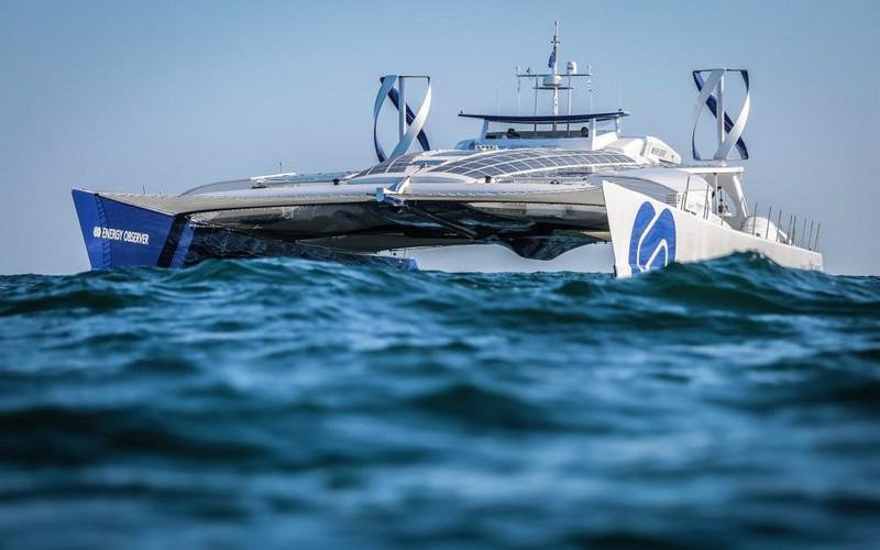 The Energy Observer boat