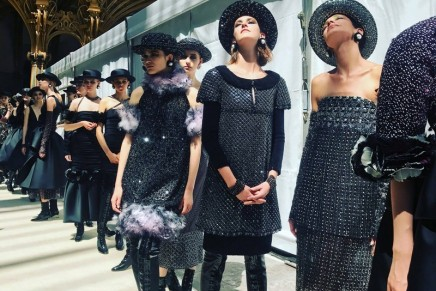 Tweed and Le Tour Eiffel at Chanel's couture show – photo essay