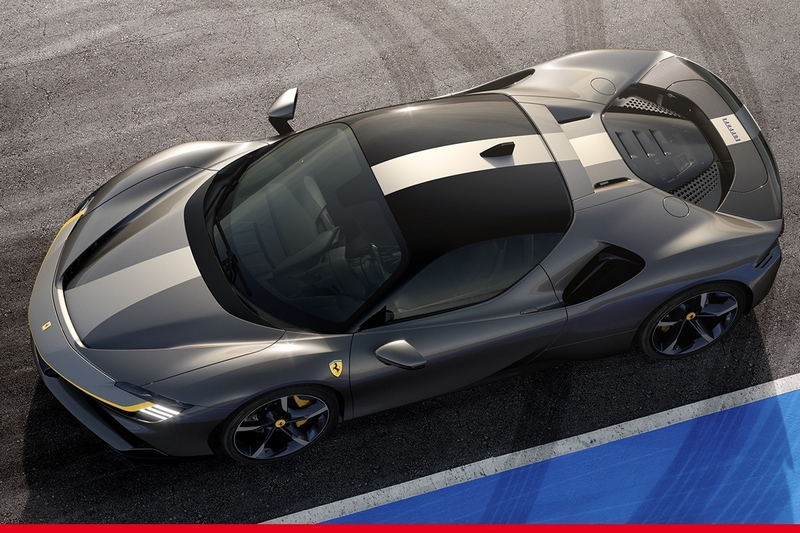The Ferrari SF90 Stradale features an extreme Assetto Fiorano specification option for a true sports-oriented feel