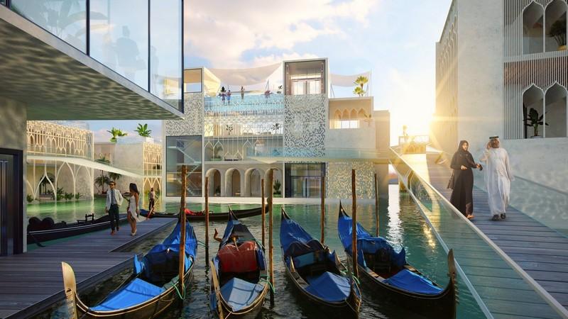 The Floating Venice Renderings