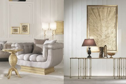 The French Living Room is coming with refined French atmospheres and magnificence