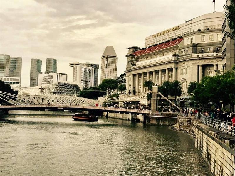 The Fullerton Hotel Singapore.