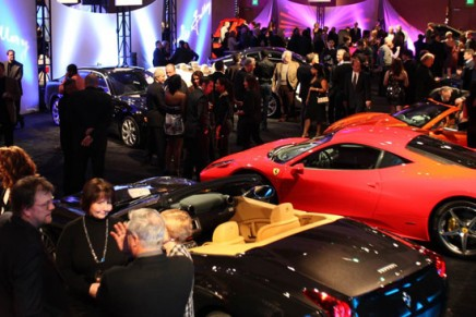 $7 million worth of the industry's most iconic luxury vehicles at The Gallery at MGM Grand Detroit