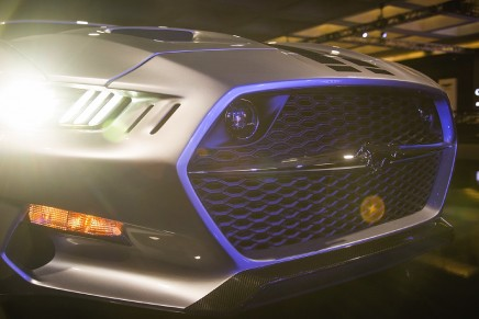 The Galpin-Fisker Rocket is a low-volume production, carbon fiber-bodied, super-Mustang