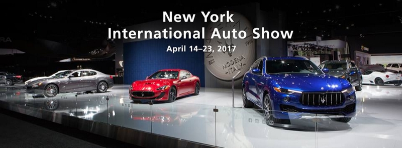 The Ghibli Nerissimo Special Edition at New York International Auto Show