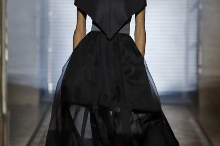 Night visions: Mystères d'un Jardin de Nuit by Clare Waight Keller for her first Givenchy Haute Couture show