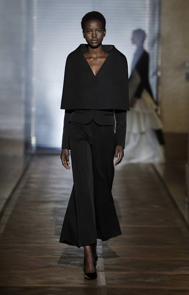 The Givenchy Haute Couture Show by Clare Waight Keller SS2018 Look 3 Notocelia