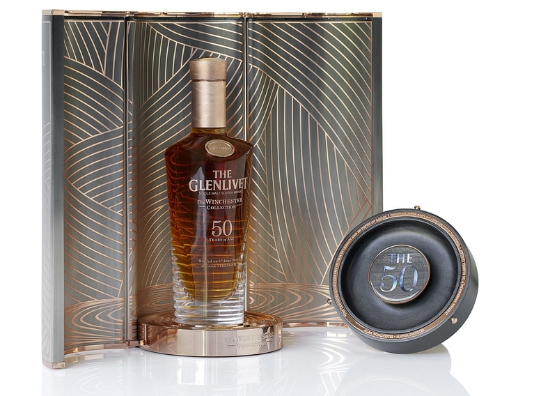The Glenlivet Releases 50-Year-Old Winchester Collection Vintage 1967
