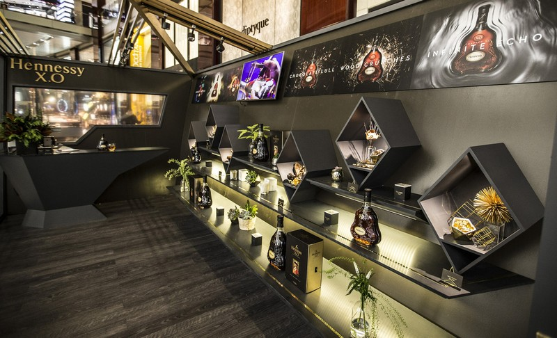 The Hennessy X.O Odyssey Experience is open at The Shops at Columbus Circle