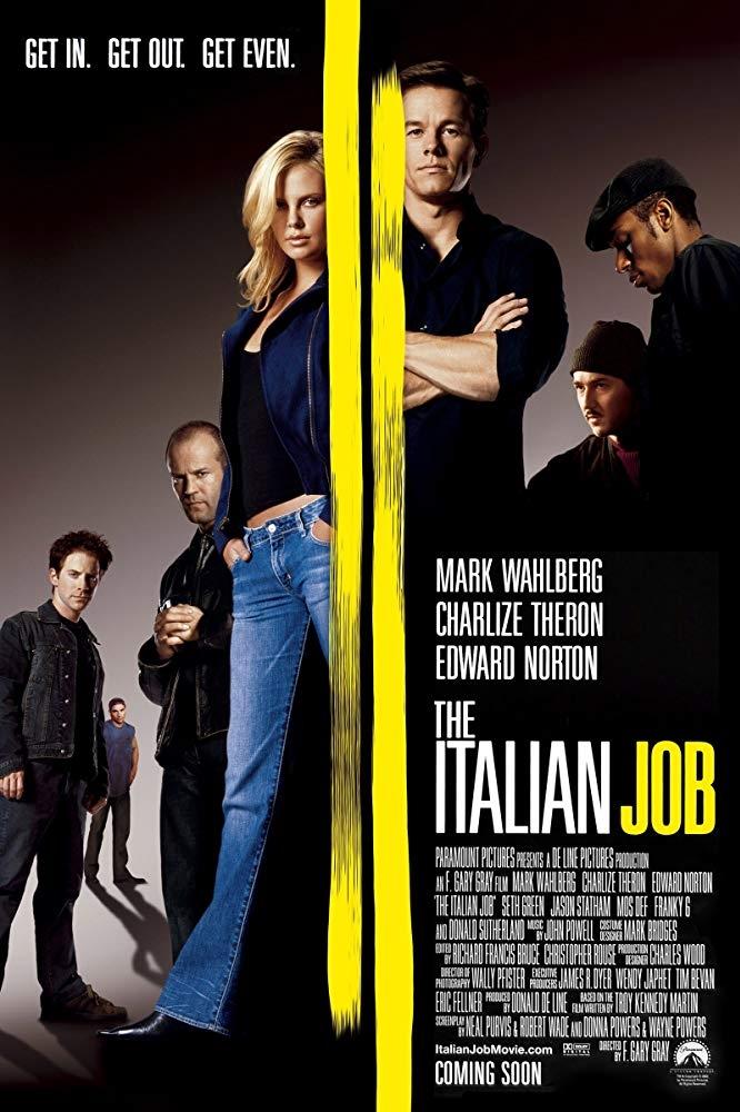 The Italian Job 2003 poster