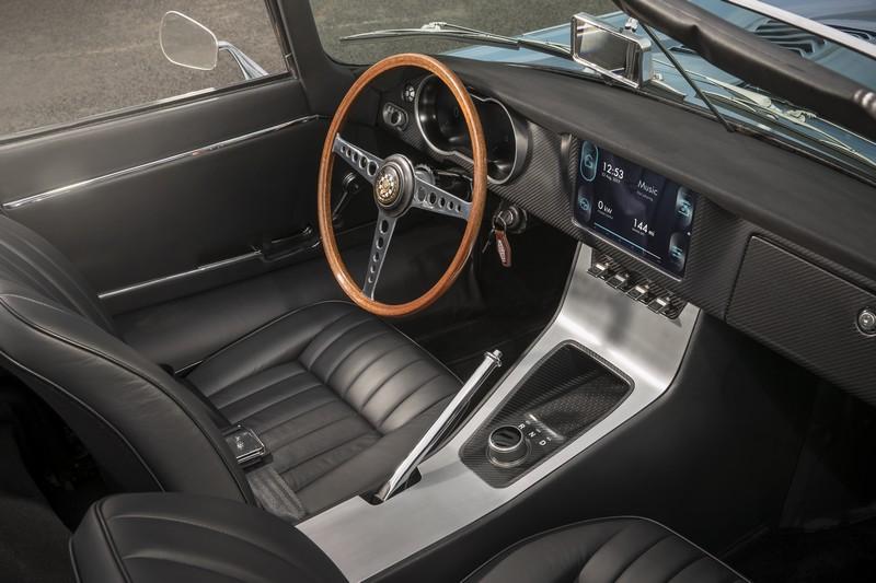 The Jaguar E-type Zero Interior