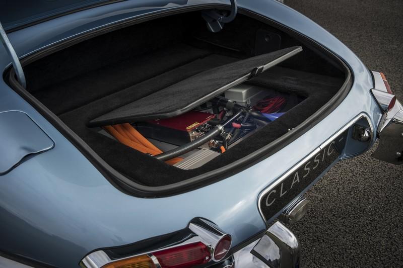 The Jaguar E-type Zero batteries
