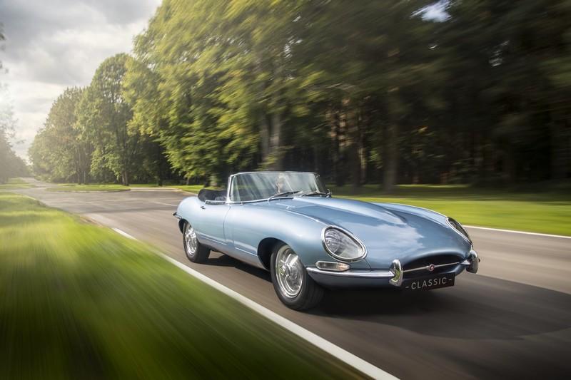 The Jaguar E-type Zero