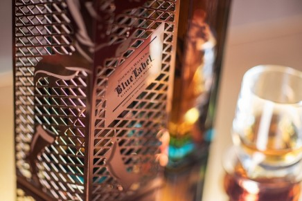 The rare and luxurious gift for the discerning whisky lovers: Tom Dixon for Johnnie Walker Blue Label