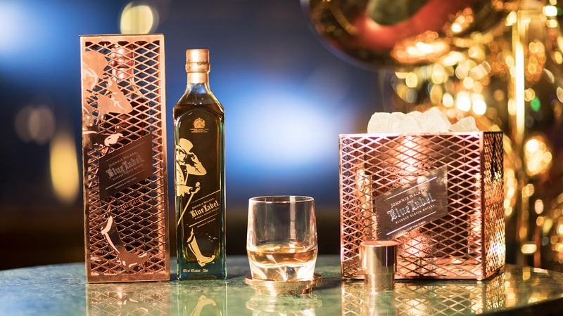 The Johnnie Walker Blue Label Capsule Series by Tom Dixon