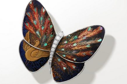 Van Cleef & Arpels Lacquered Butterflies: Catch a glimpse of this new 2020 poetic collaboration