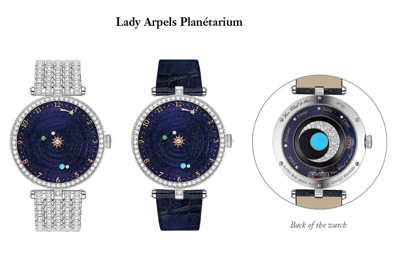The Lady Arpels Planétarium watch- SIHH 2018