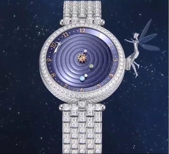 The Lady Arpels Planétarium watch