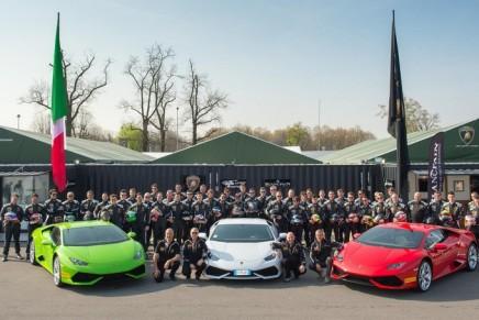 Lamborghini Blancpain Super Trofeo North America 2015